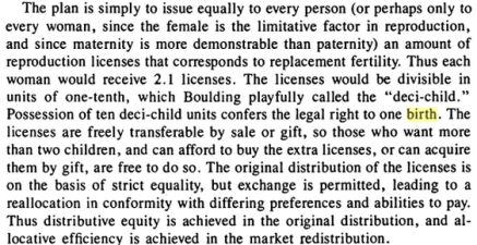 daly birth licences