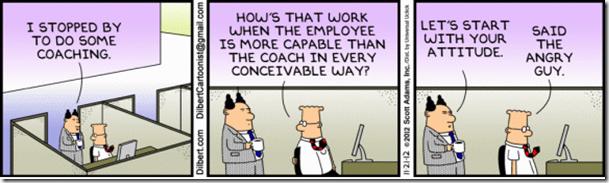 dilbert coaching