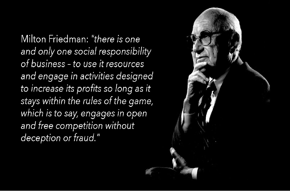 Milton Friedman Social Responsibility Essay A Society That Puts Equality Before Freedom Will Get Neither Origin  Worlds Dumbest Idea Maximizing Shareholder Value Idea Got Going Prove  Ethics  Freelance Writers also Example Of A Essay Paper  High School Personal Statement Essay Examples