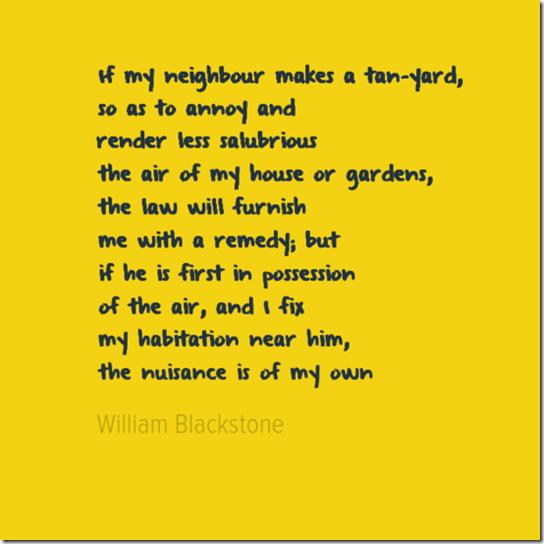 blackstone nuisance