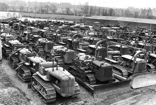 1944 Picture of Bulldozers