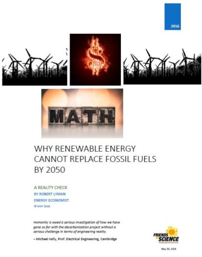 cover why renewable NRG cannot replace