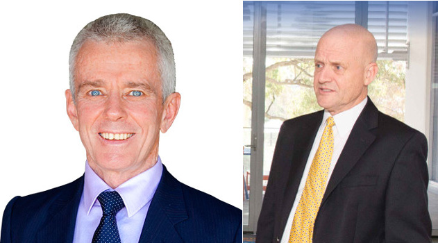 Malcolm Roberts, One Nation (Left), David Leyonhjelm (Liberal Democrats) Right