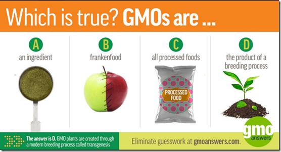 #GMO are…?