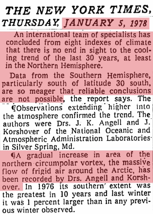 I remember writing essays on global cooling in high school#OTD