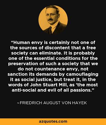 Hayek and Mill on Gareth Morgan's taxproposals