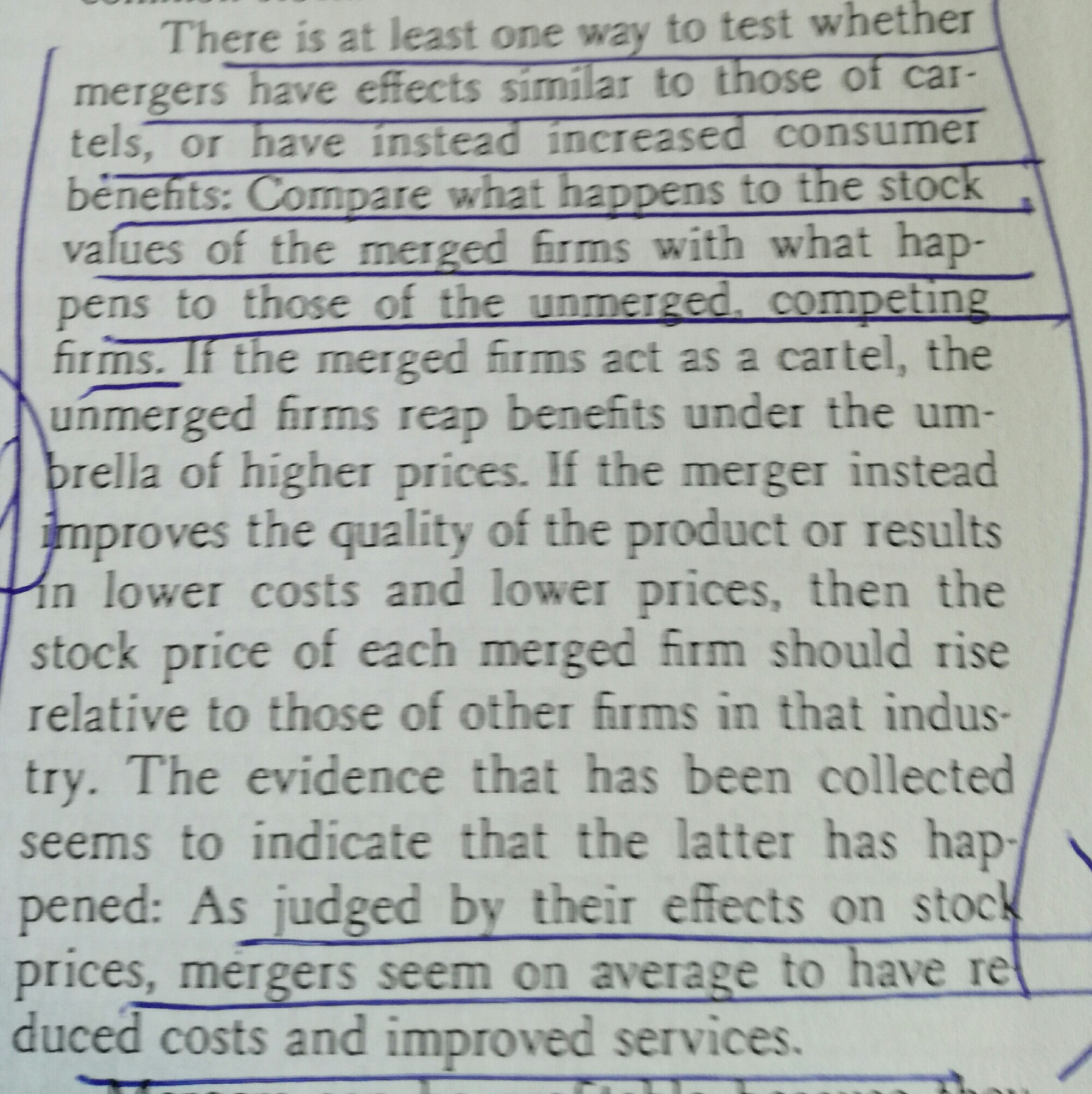 Alchian and Allen on when mergers reduce competition