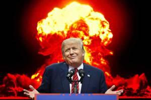 Donald Trump's nuclear threat