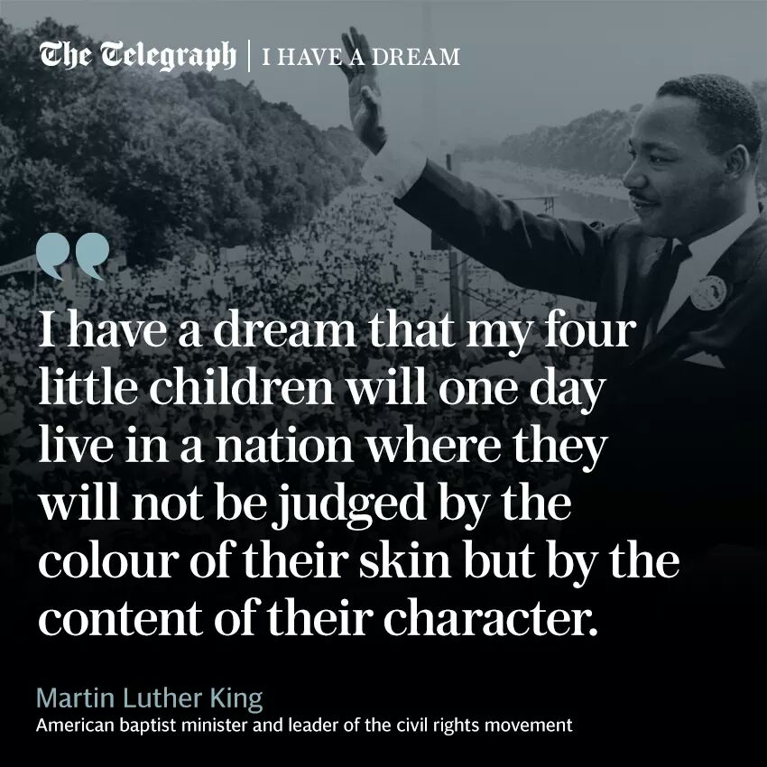 My favourite Martin Luther Kingquote