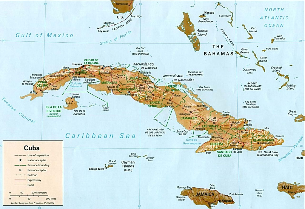 Are Cuba and the Cayman Islands natural experiments in socialist versus capitalist neighbours?