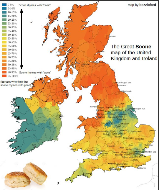 "How do you pronounce ""scone""?"
