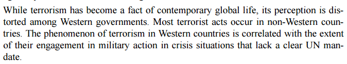 More @NZGreens fantasies about terrorism! Do non-Western terrorist murders not count?