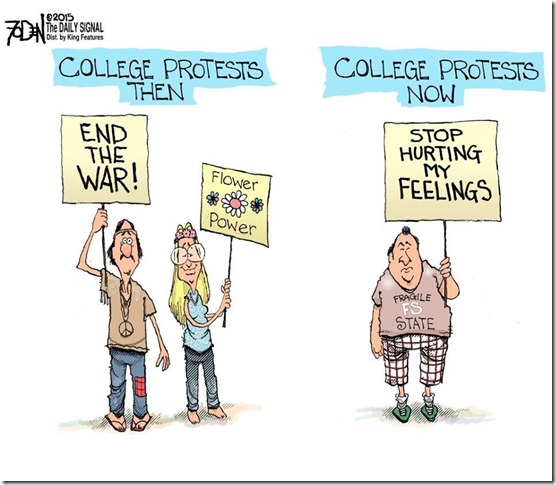 protesters then and now
