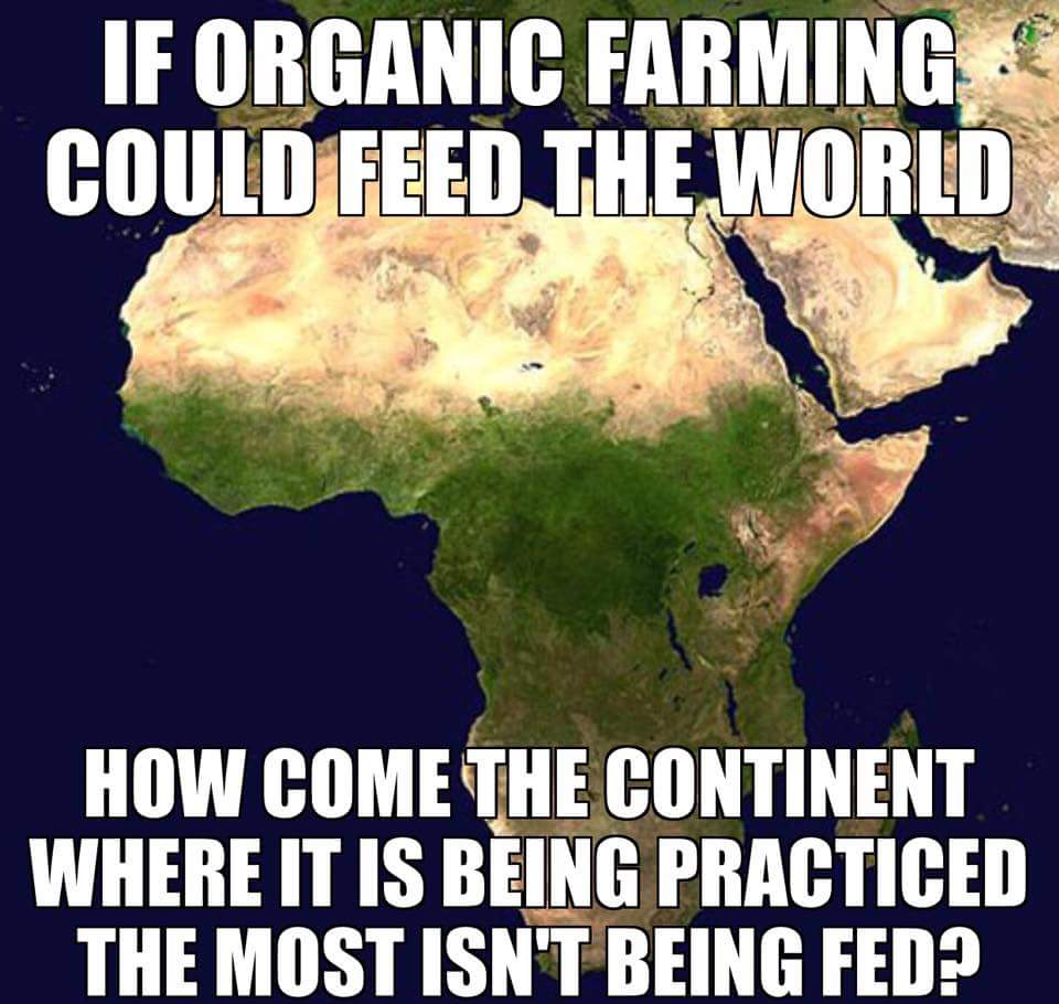 Farming was #organic for most of human history