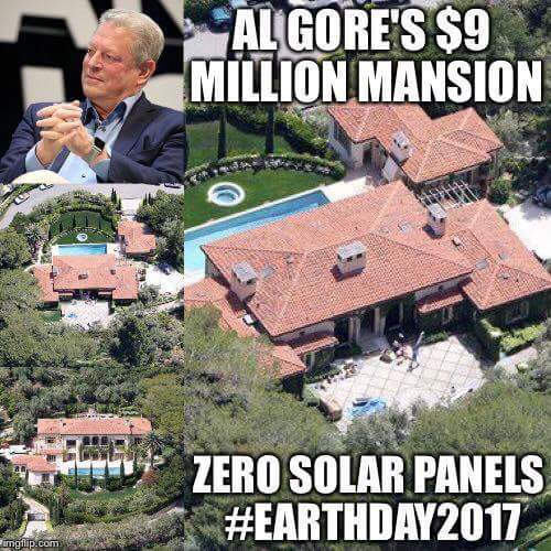 Where are his solar panels?