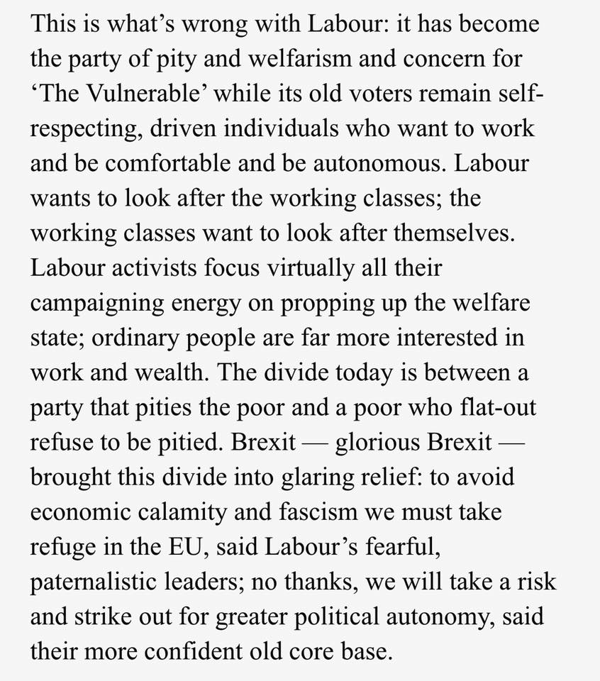 Brendan O'Neill on the unpopularity of the Labour Party