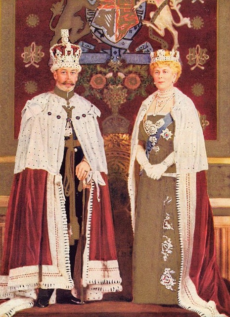 King George V and Queen Mary had been on the throne for less than a year on census day, Sunday 2 April 1911.