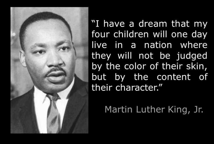 MLK content character