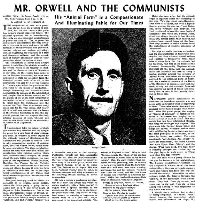 an analysis of the utopia in animal farm a novel by george orwell Animal farm is an allegorical novella by george orwell, first published in  england on 17  1 plot summary 2 characters 21 pigs 22 humans 23  horses and donkeys  4 critical response 5 analysis 51 animalism 52  significance and allegory.