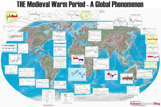 THE Medieval Warm Period - A global Phenomenon - CLIMATISM