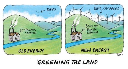 Greening The Land (high res) - Cartoons By Josh