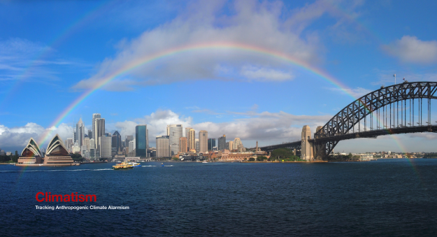Sydney Harbour Sea Levels 1886-2018 - CLIMATISM