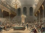 The House of Commons in Wilberforce's day, by Augustus Pugin and Thomas Rowlandson